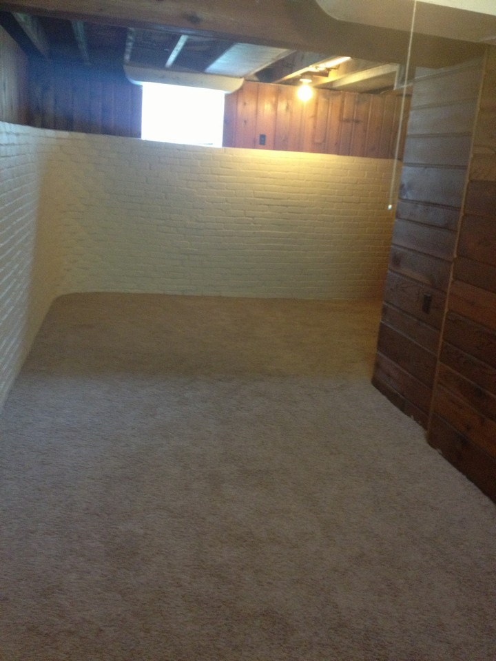 finished rec-room in basement with bathroom and large laundry room. very clean!