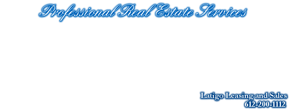 Professional Real Estate Services, Latigo Leasing and Sales, 612-200-1112